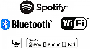 Подключение по Wi-Fi®, AirPlay, Spotify® и Bluetooth